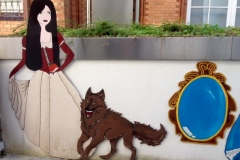 Rotkäppchen und der Wolf